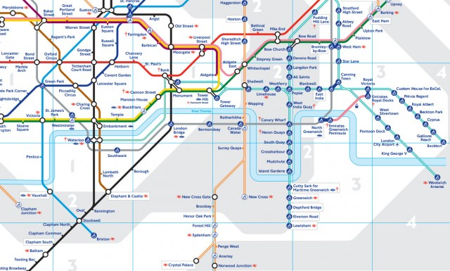 Canning Town Tube Map