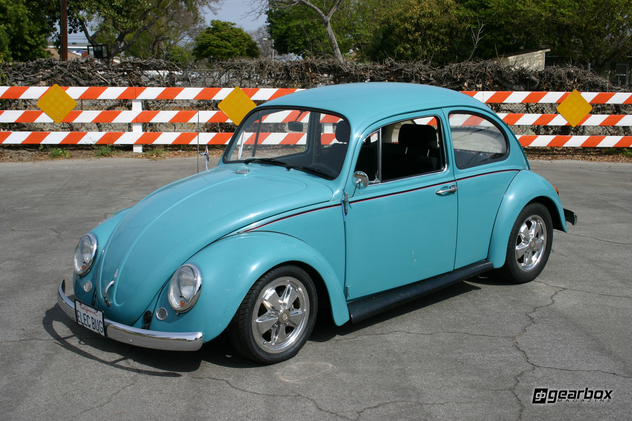 noland david news first ebug photo electric car by drive beetle conversion hugo richard h owned bugs volkswagen