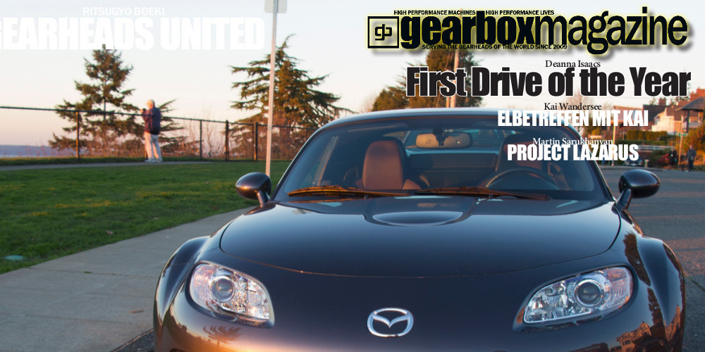 Gearbox Magazine issue 03.01 available now on Amazon.